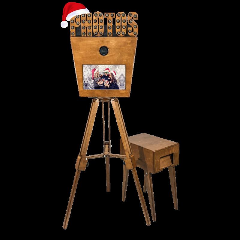 Vintage Fotobox - Firmen Weihnachtsfeier & X-Mas Party